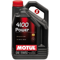 Óleo Motul 4100 Power 15w50 Semi-sintético 4 Litros