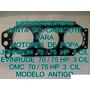 Junta De Cabeçote Motor De Popa Johnson Evinrude 70 / 75 Hp
