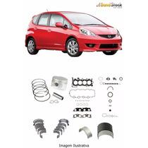 Kit De Retífica Do Motor Do Honda Fit 1.4 8v 03/.. L13a