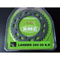 Relação Lander Xtz 250 2009... Kit Completo Kmc