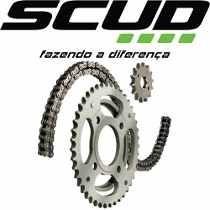 Kit Relação Scud Honda Cbx 250 Twister S/ Retentor
