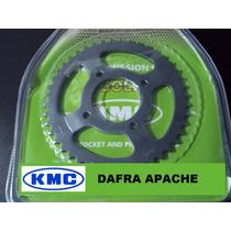 Relação Dafra Apache Kit Tração Kmc Aço 1045 Apache