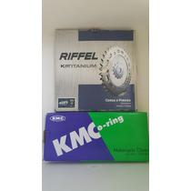 Kit Relação Com Retentor Kasinski Mirage 250 Riffel