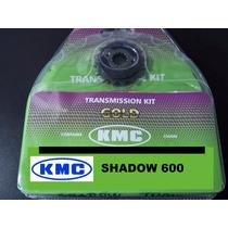 Kit Transmissão Relação Shadow 600 Aço 1045