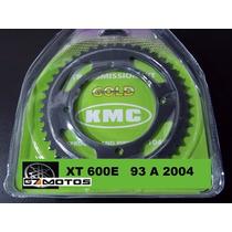 Kit Tração Xt 600 Relação Xt 600 Aço 1045 Kmc Completo