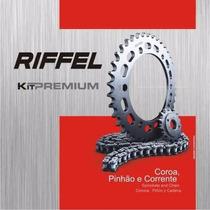 Kit Relação S/ Retentor Xtz 125 Riffel Premium Dragon Racing