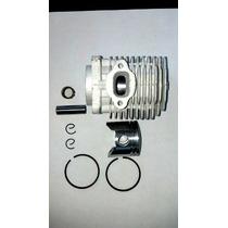 Cilindro, Pistão, Anéis, Pino, Trava E Gaiola Para Mini Moto
