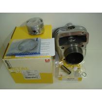 Kit Cilindro/pistao/aneis Cg-titan 125 1994-2001 Metal Leve