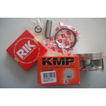 Pistao Kit 0,25mm Premiun Cb/xre 300 Kit Compl. C/ Aneis Rik