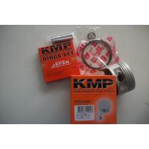 Pistao 0,50mm Kmp Cbx/nx/xr 200 Kit Compl.c/ Aneis Kmp