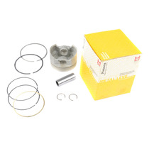 Pistão Kit C/ Anéis Honda Cbx200 Metal Leve 0,25 Mm