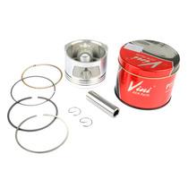 Pistão Kit C/ Anéis Shineray 50 Vini 0,50 Mm