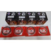 Pistão Cbx 750 Com Anel Rik Cartela Kit Com 4 Jogos Med.0,25