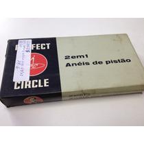 Jogo Aneis Pistão Opala 4cc 69/73 Motor 153 0,20 Perfect