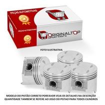 Jogo Pistao Motor 0,60 Marea 2.4 Med, 83,6x1,2x1,5x3,0
