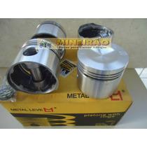 Vw 1300 - Jogo De Pistões Metal Leve - 4911 E 4912