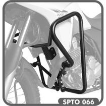Protetor De Motor E Carenagem Scam Preto Para Honda Xre 300