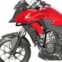 Protetor De Motor E Carenagem Scam Preto Para Honda Cb500 X