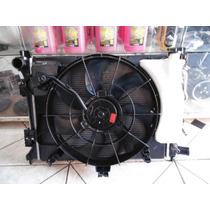 Conjunto De Radiador Condensador E Ventoinha Hb20 Automático