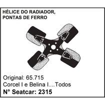 Hélice De Ferro Do Radiador Corcel I / Belina I