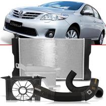Radiador Toyota Corolla 11 10 09 + Defletor + Reservatório