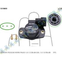 Sensor De Posição Borboleta Palio 1.0 1.5 96/04 - Delphi