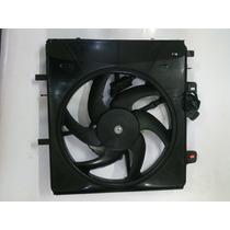Eletro Ventilador Citroen C3 2003 Até 2007 Com Módulo