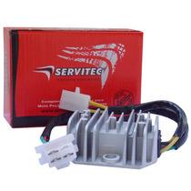 Retificador Bateria Regulador Voltagem Sahara 350 Servitec