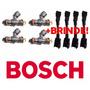 Bico Injetor Bosch Alta Vazão E Impedância-210lbs/h E 2200cc
