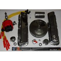 Kit Combo Cromado Motor 302 V8 Maverick Landau +distribuidor