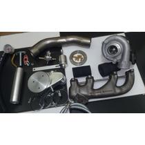 Kit Turbo Vw Ap Com Turbina Apl 42x48 Frete Barato + Brinde