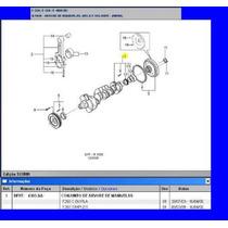 Virabrequim 0,25 Motor 4.2 Sprint Mwm F250 Silverado