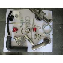 Kit Turbo Opala 4 Cc Opção De Mufla Weber Ou 2e /3e