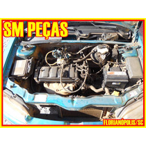 Motor Parcial Cabeçote 1.0 8v 98 Peugeot 106 Original Usado