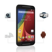 Celular Motorola Moto G 2°geração Colors Dual Preto Orange