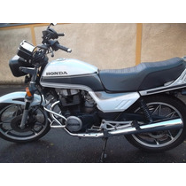 Cb 450 Custon Branca .moto Revisada Ano 83 Modelo Custon....