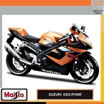 Suzuki Srad 1000 1/12 Lançamento Moto Hondayamaha Linda