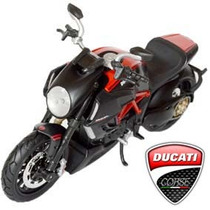 Ducati Diavel Carbon 1/12 Lançamento Moto Honda Suzuki Yamah
