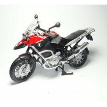 Moto Miniatura 1/12 Bmw R1200gs Maisto Metal