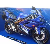 Yamaha R1 Yzf New Ray 1/12 Lançamento Moto Honda Suzuki Nova