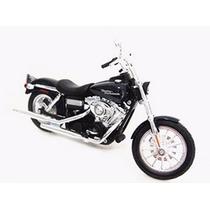 Moto Harley Davidson Fxdbi Dyna Street Bob 2006 1:12 Maisto