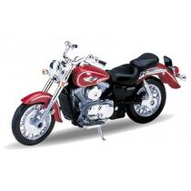 Miniatura Moto Kawasaki Vulcan 1500 Ano 2002 Escala: 1/18