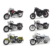 Kit Harley.d Maisto 1:18 Série 29 - 06 Unidades-31360-29-kit