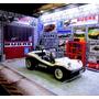 Diorama Garage Luminaria Buggy Bugre.