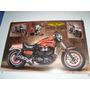 Vmax 1200cc Poster Importado Moto Estilzada França 90cmx60cm