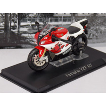 Miniatura Moto Yamaha Yzf R7 Produto Novo.