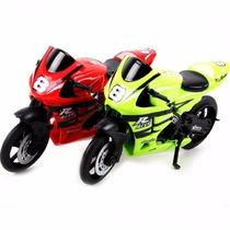 Brinquedo Moto Racer Series 11cm - Coleção - Frete Grátis