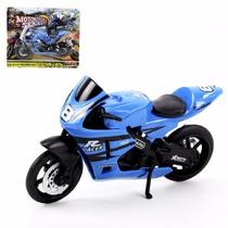 Miniatura Moto Racer Brinquedo - Motorcycle Series - Cores