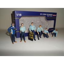 Miniatura Oficina Acessórios Pit Stop F1 Tyrrel Diorama 1/18