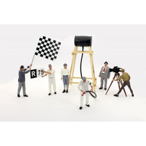 Miniatura Oficina Acessórios Pit Stop F1 Schuco Diorama 1/18